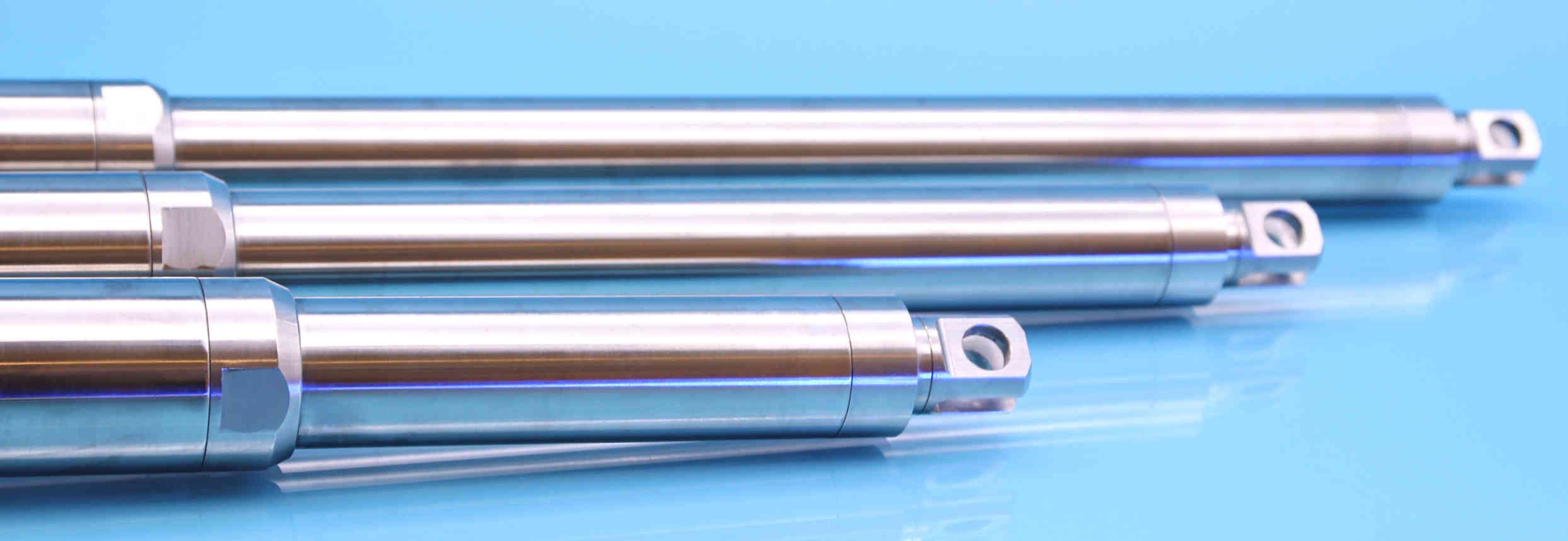 Edelstahl-Elektrozylinder Sliderbild - Antriebstechnik, die bewegt!