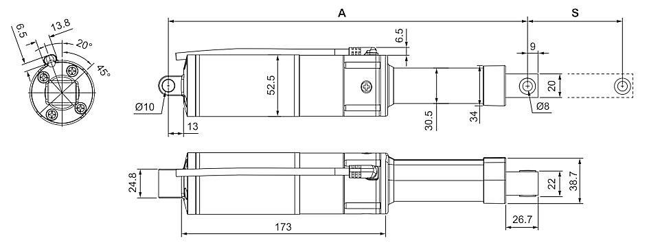 DSZY30 Maßbild